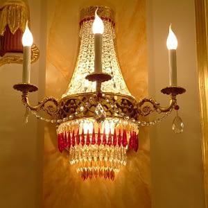 Lampada da parete Tivoli