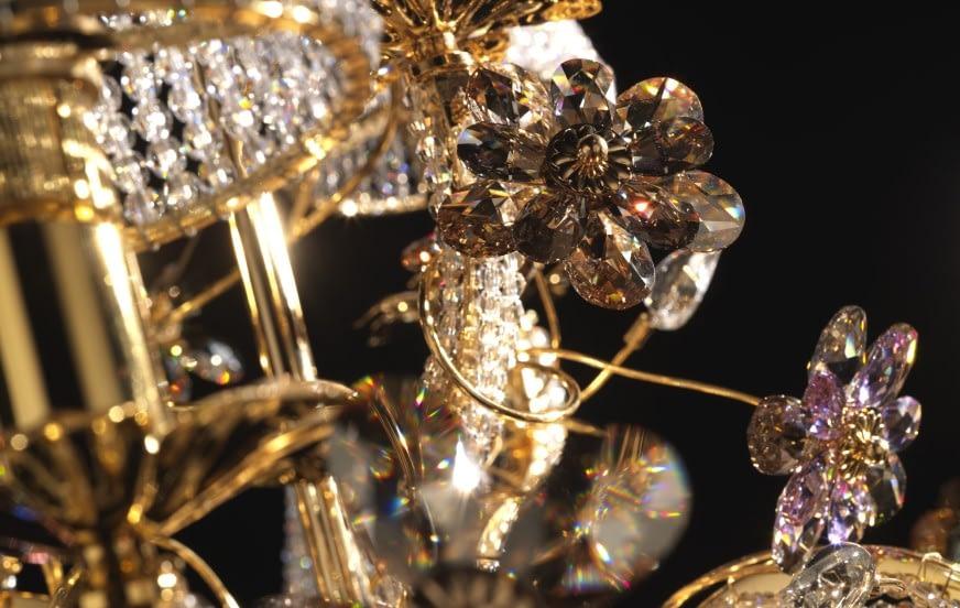 6 Materiali Preziosi per Lampade di Lusso