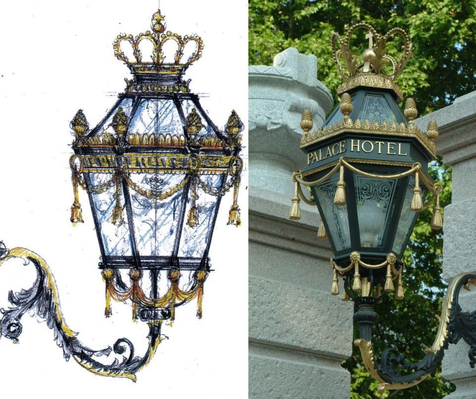 Lanterne Regina Palace